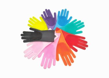 China BPA Free Silicone Kitchen Gloves Heat Resistant Silicone Dishwashing Gloves supplier