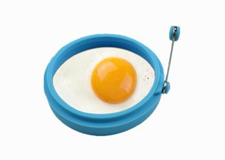 China Non Stick Silicone Egg Pancake Ring Round Shape Heat Resistant For Kitchen supplier