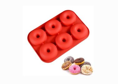 China Handmade Homemade Silicone Baking Molds Donut Cake Baking Tools For Desserts supplier