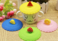 Good Quality Silicone Kitchen Gadgets & Food Grade Silicone Fresh Cover / Silicone Cup Cover Round Shape Diameter 10.5cm on sale