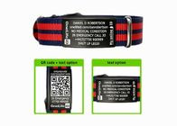 Engraved Sport ID Bracelet Customized Nato Strap ID Bracelets For Men